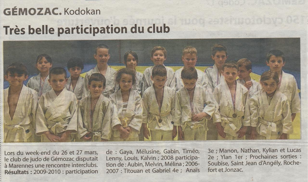 article marennes
